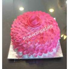 1/2 Kg. Pineapple Flavor Rosy Cake