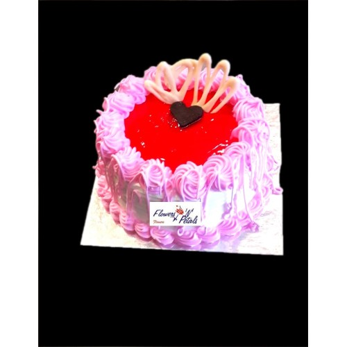 1/2 kg Strawberry cake