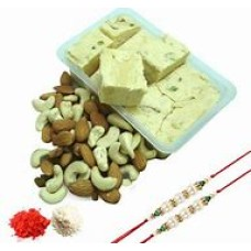 1 kg Dry Fruits + Sohan Papdi