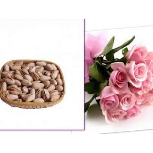 Pistachio with Roses
