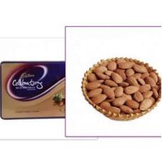 Pistachio with Cadbury Celebration Pack