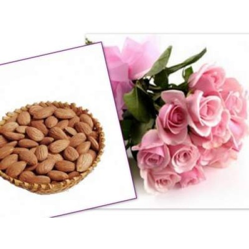 Almond with Roses