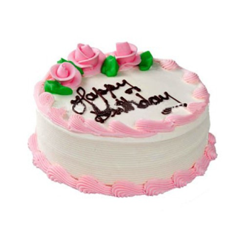 1/2 kg Vanilla Cake
