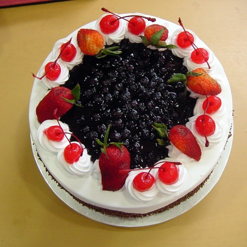 1 kg 5'star Black Forest cake