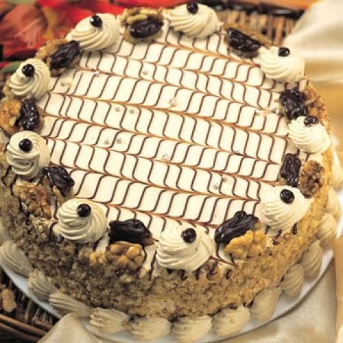 1 kg 5'star Butter Scotch Cake