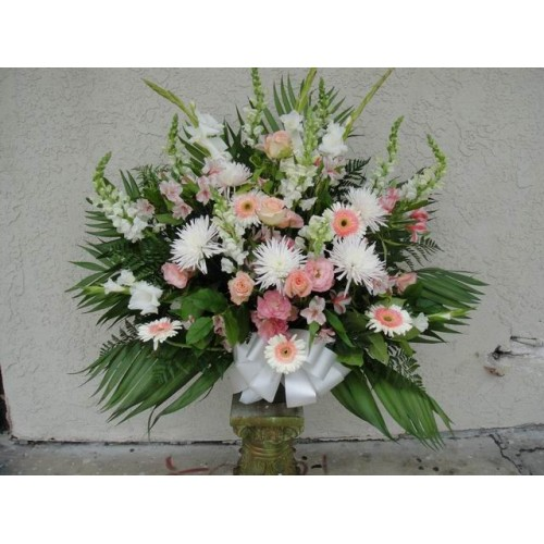 Carnations Arrangement with Roses