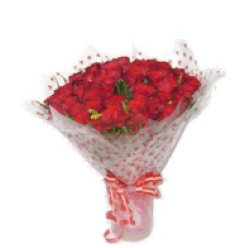 Red Roses Hand Bunch