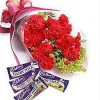 Carnations + Chocolates