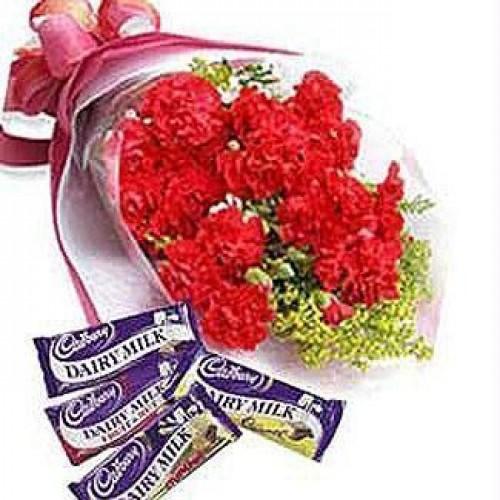 Carnations + Chocolates